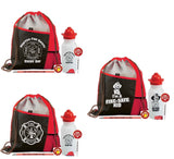 6-In-1  Deluxe Drawstring Backpack With Water Bottle Value Kits  NT-4894  NT-5101  NT-5102