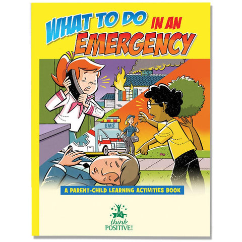 Coloring/Activity Book What to Do in an Emergency Grades K-2<br>PCB-15