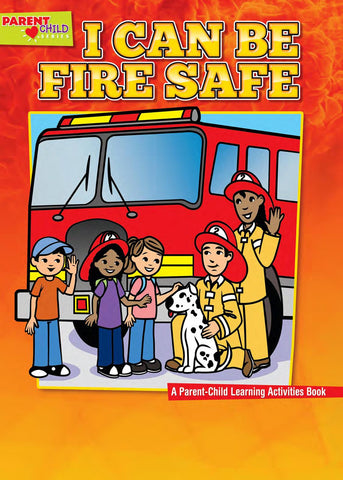 Fire Safety Coloring Activity Book