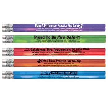 Heat Sensitive Assortment Pack 5 colors 100 pencils with safety tips