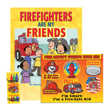 Fire Safety Coloring Book Kit