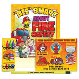"""Bee"" Smart About Fire Safety Grades Pre-K Thru Kindergarten Fire Safety Educational Activity Pack SK-2646 value kit"