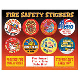 Firefighters Are My Friends Grades 1-2 Fire Safety Educational Activity Pack SK-2647 value kit