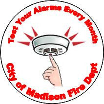 Test Smoke Alarms Magnet