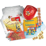 Open House Kit - Volunteer Firefighters Fire Safety- 700 Items  VP-4712