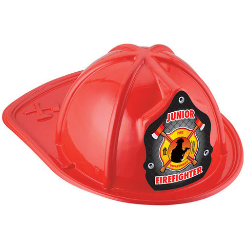 Jr. Firefighter Helmet-Fireman and Axe Design <br>VP-5201 Red <br> VP-5202 Black