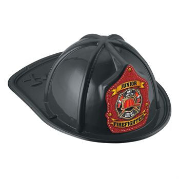 Jr. Fire Helmet-Fire Safety Starts With Me <br> VP-5705 Black<br>  VP-5704 Red