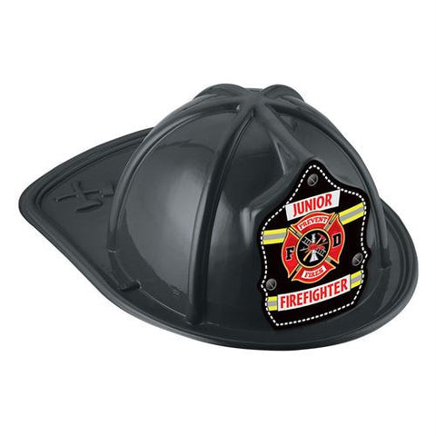 Jr. Firefighter Helmet -Yellow/Stripe<br> VP-6266 Red <br> VP-6267 Black