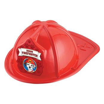 Jr. Firefighter Helmet - Dalmatian<br>VP-6280 Red<br>VP-6334 Pink