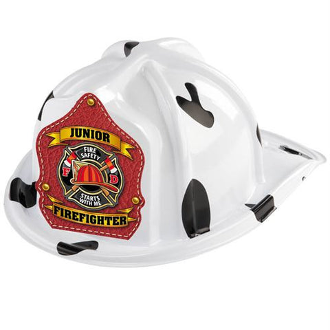 Dalmatian Jr. Firefighter Helmets <br> VP-7438  <br>VP-7439 <br> VP-7440