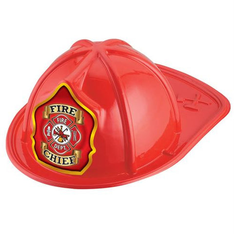 Jr. Fire Chief Helmet -Maltese<br> VP-7449 Red <br> VP-7448 Black