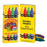Fire Safety Theme Crayons