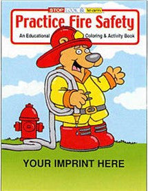 Coloring/Activity Book Practice Fire Safety-CB102
