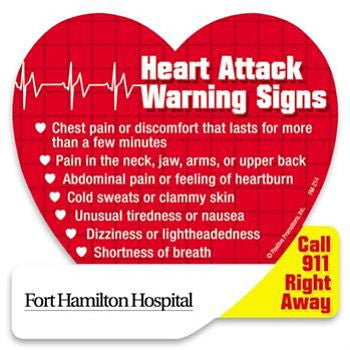 Magnet, Heart Attack Warning Signs- FM214