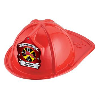 Jr. Fire Chief Helmet-Custom<br>HM-72 Red<br>HM-73 Black<br>HM-74 Pink