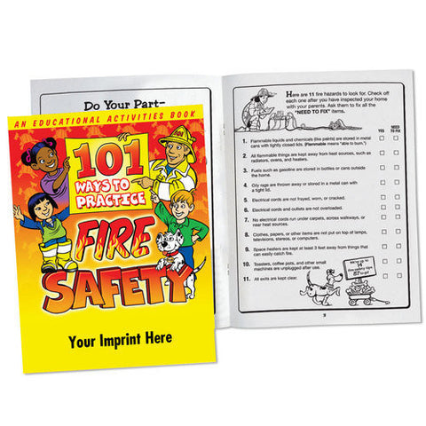 Coloring/Activity Book 101 Ways to Practice Fire Safety <b>Grades 3-4  Item: KCB-350