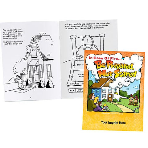 Coloring/Activity Book Be Prepared Not Scared <b>Grades 2-3<br>KCB-570