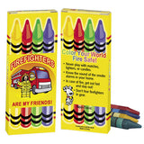 Fire Safety Themed Crayons