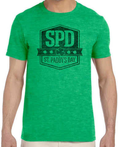 SPD Official Logo T-Shirt - Green/Black
