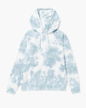 RICHER POORER MEN'S RECYCLED PULLOVER HOODIE - BLUE MIRAGE TIE DYE