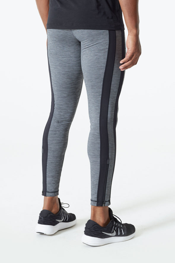 MPG TERRITORY FULL LENGTH FITNESS TIGHTS- CHARCOAL