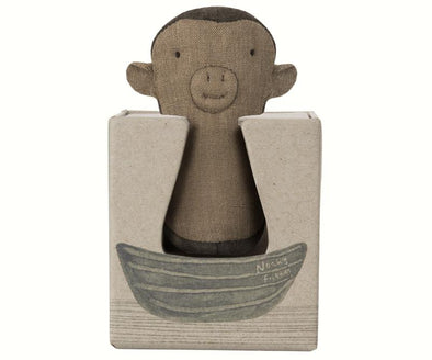 MAILEG MONKEY RATTLE