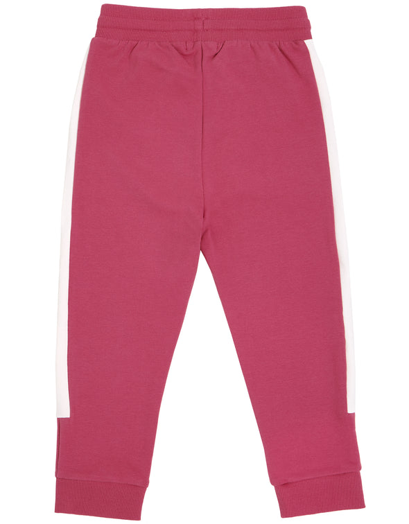 MILES GIRLS JOGGER - DUSTY PINK