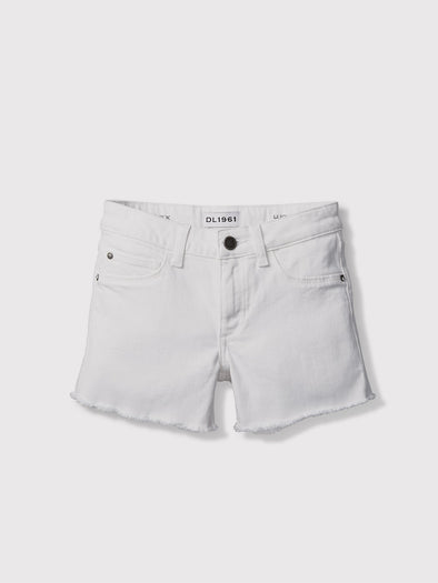 DL1961 PREMIUM DENIM LUCY CUT OFF SHORT- SNOWCAP