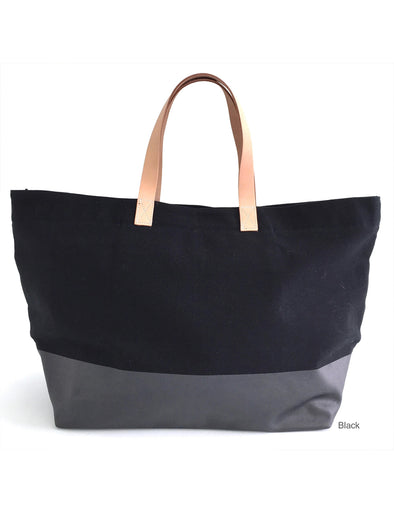SEE DESIGN OVERNIGHTER TOTE- BLACK