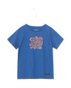 A MONDAY IN COPENHAGEN KIDS DISCOVER T-SHIRT- TRUE BLUE