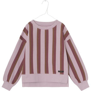 A MONDAY IN COPENHAGEN SILKE BLOUSE - DAWN PINK STRIPE