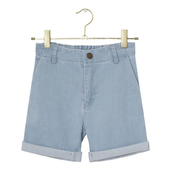 A MONDAY IN COPENHAGEN MICKEY SHORTS - PEARL BLUE