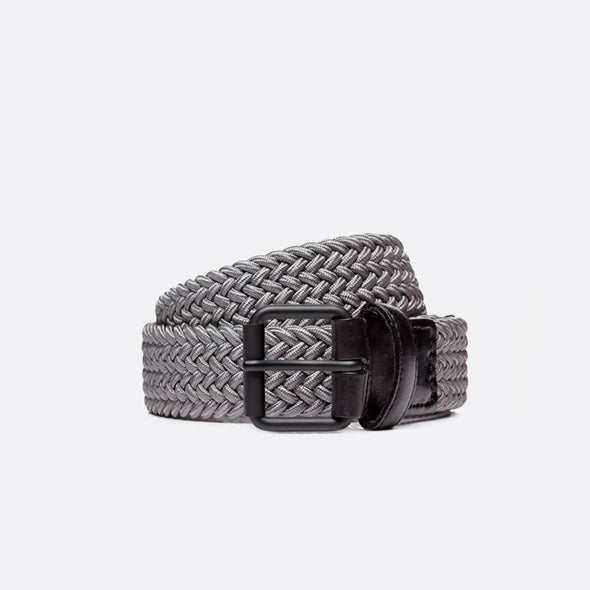 BELTOLOGY PINPOINT BELT- GREY