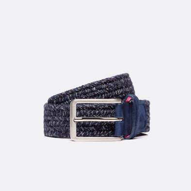 BELTOLOGY THERMAL WOOL BELT- BLUE
