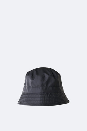 RAINS UNISEX BUCKET HAT - BLACK