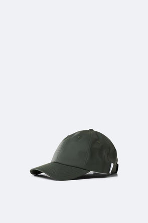 RAINS UNISEX CAP - GREEN
