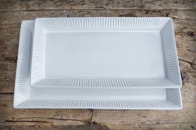 GATHER & SERVE CAMBRIA SERVING PLATTER - SMALL