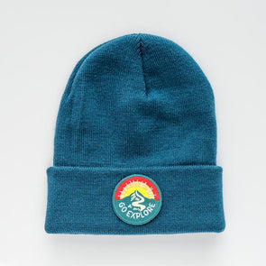 SEASLOPE YOUTH/ADULT GO EXPLORE BEANIE - TIDE