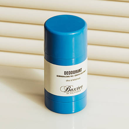 BAXTER OF CALIFORNIA- ALCOHOL & ALUMINUM-FREE DEODORANT