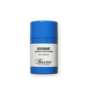 BAXTER OF CALIFORNIA ALCOHOL & ALUMINUM-FREE DEODORANT- TRAVEL SIZE