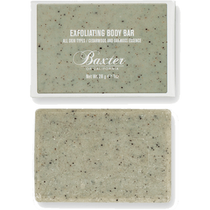 BAXTER OF CALIFORNIA- EXFOLIATING BODY BAR TRAVEL SIZE