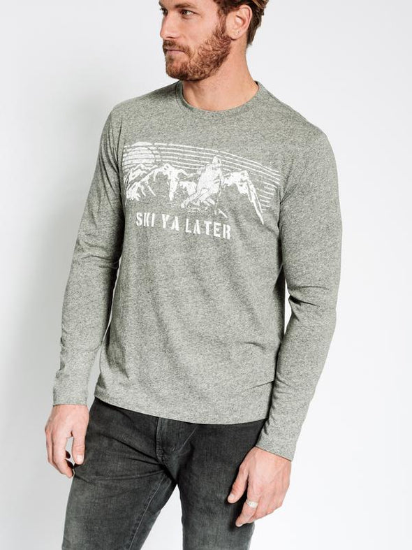 SOL ANGELES MENS SKI YA LATER LONG SLEEVE CREW