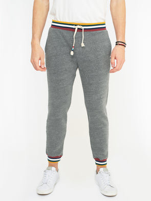 SOL ANGELES MENS TAHOE CUFF JOGGER- HEATHER