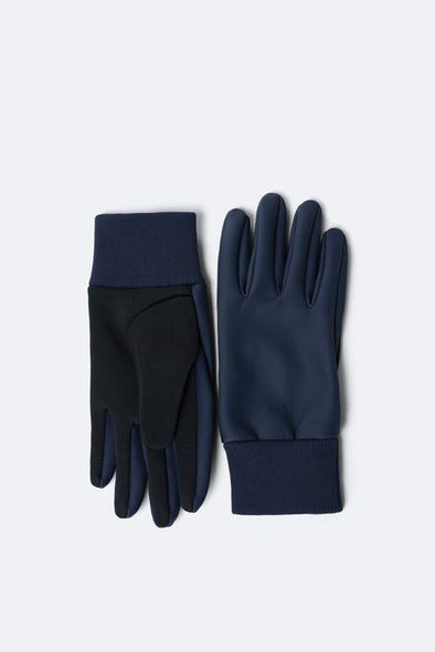 RAINS UNISEX GLOVES - BLUE