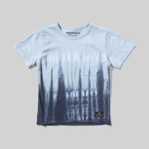 MUNSTERKIDS FLOOD TEE- BLUE
