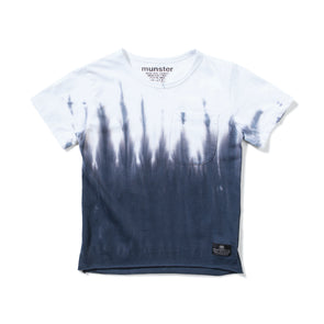 MUNSTERKIDS FLOOD TEE- WHITE