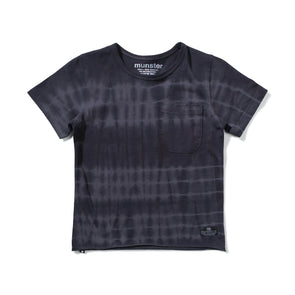 MUNSTERKIDS BEATS TEE- CHARCOAL