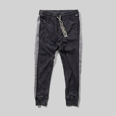 MUNSTERKIDS TAPED UP PANT - WASHED BLACK