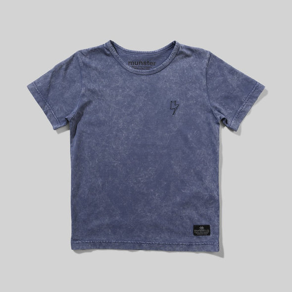 MUNSTERKIDS BLINDSIDE TEE - WASHED MIDNIGHT