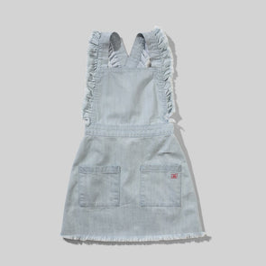 MUNSTERKIDS GIRLS MICKI DRESS - DENIM